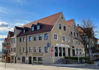 Marienplatz in Friedberg, Demkmalschutz